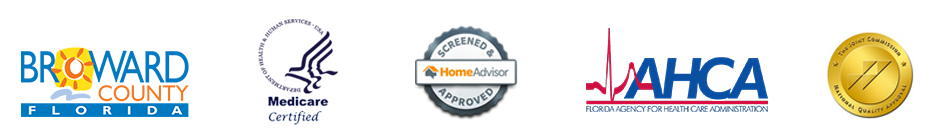 Picture: Home Health in Broward County, Florida, Medicare Certified, HomeAdvisor approved.